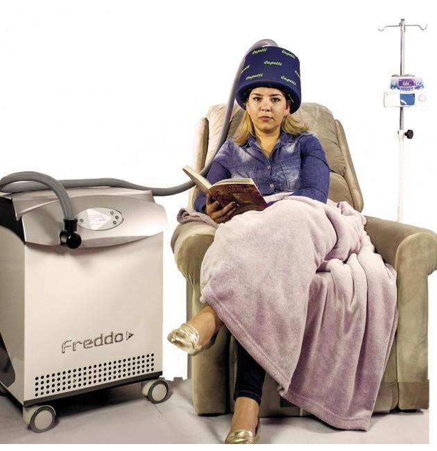 Sistema Capelli - Reduz a queda de cabelo na quimioterapia